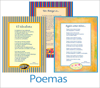 Tarjetas, postales: Poemas