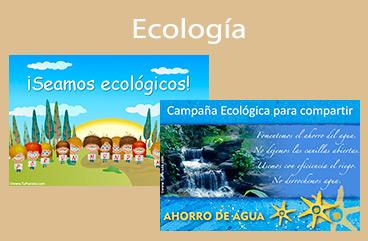 Tarjetas, postales: Ecología