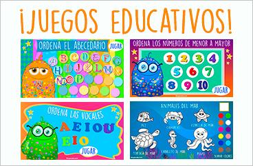Tarjetas, postales: Juegos educativos