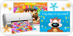Druckbare Postkarten auf Papier