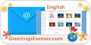 GreetingsForever.com auf Englisch