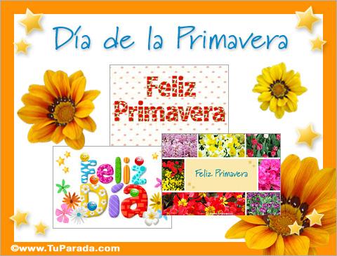 Ver fecha especial de Día de la Primavera