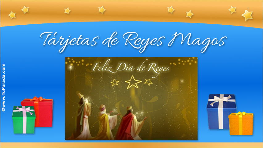 Tarjetas de Día de Reyes