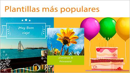 Tarjetas, postales: Más populares
