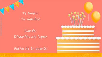 Crea Y Publica Invitaciones A Cumpleaños Bodas U Otros Eventos