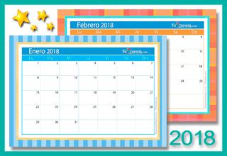 Calendario Deco 2018