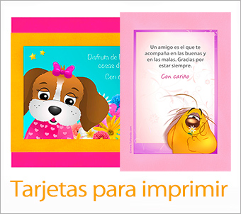 Tarjetas, postales: Imprimir tarjetas