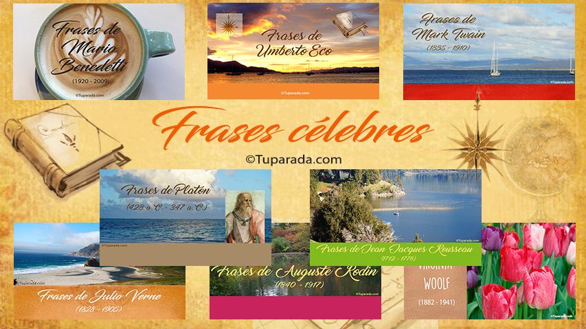 Tarjetas, postales: Frases