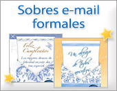 Sobres e-mail formales