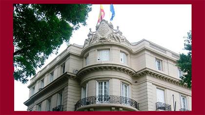 Embajadas en España