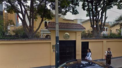 Embajadas en Perú