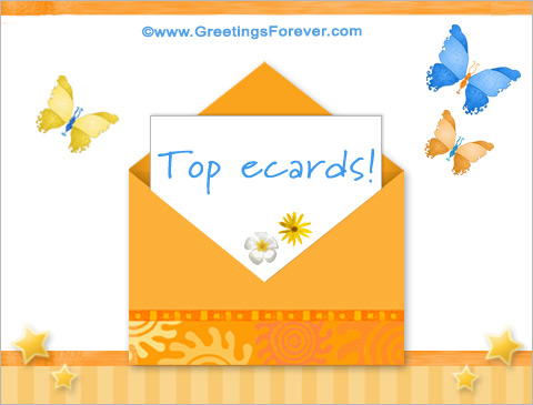 Top and Popular Ecards