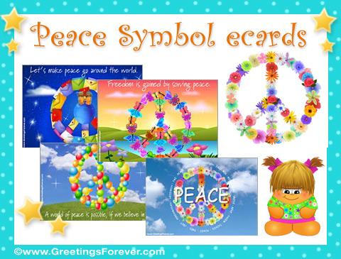 Peace Symbol ecards