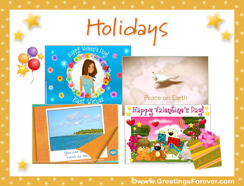 Ecards: Holidays