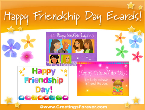 Friendship Day ecards