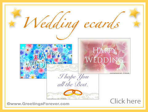 Wedding ecards