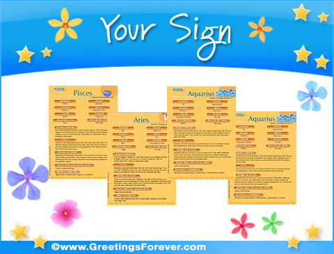 Ecards: Your Sign