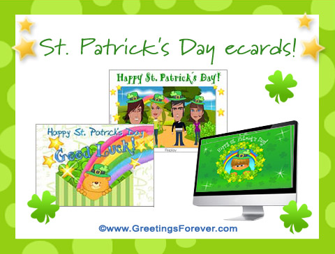 St. Patrick's Day ecards