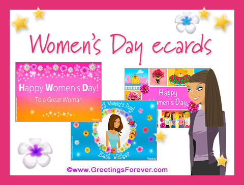 Women's Day ecards