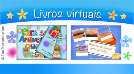 Cartões postais: Livros virtuais
