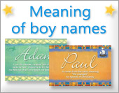Ecards: Boy names