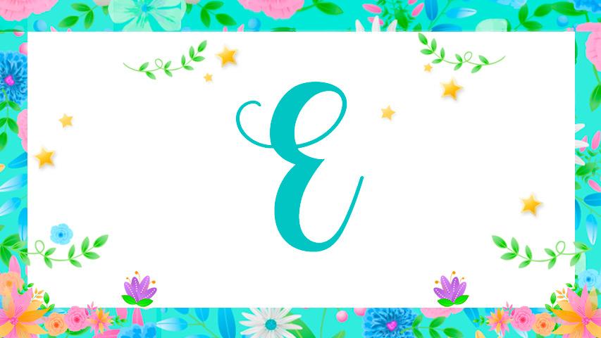 Names with E