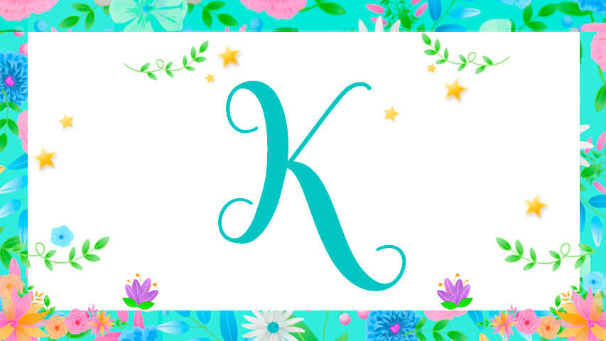 Names with K